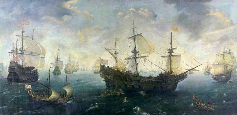 Galeones españoles de la Grande y Felicísima Armada