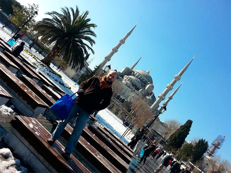 Mi viaje a Estambul fue mi primera vez fuera de la Unión Europea